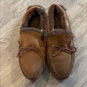 L.L. Bean shearling loafers